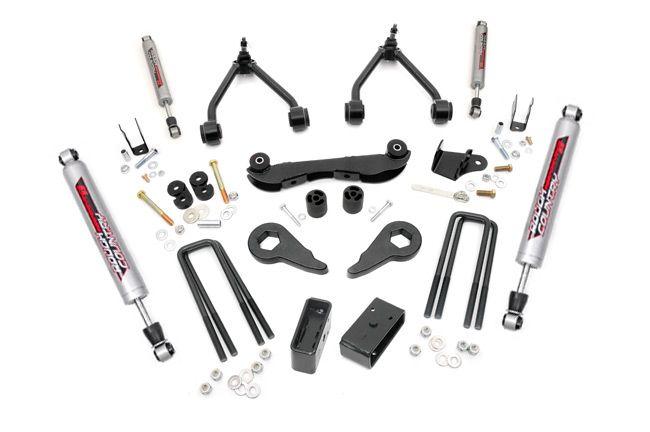 "Rough Country 2 - 3"" GM Suspension Lift Kit (Rear Blocks) - Performance 2.2"