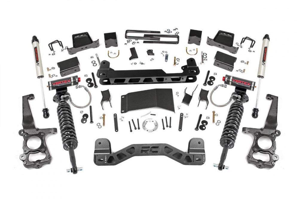 "Rough Country 6"" Ford Suspension Vertex Lift Kit (15-19 F-150 4WD)"