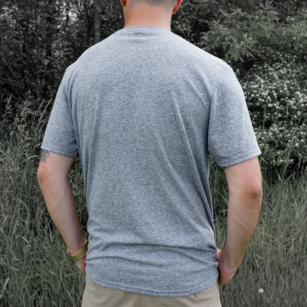 Splatter Logo Light Grey & Black Shirt