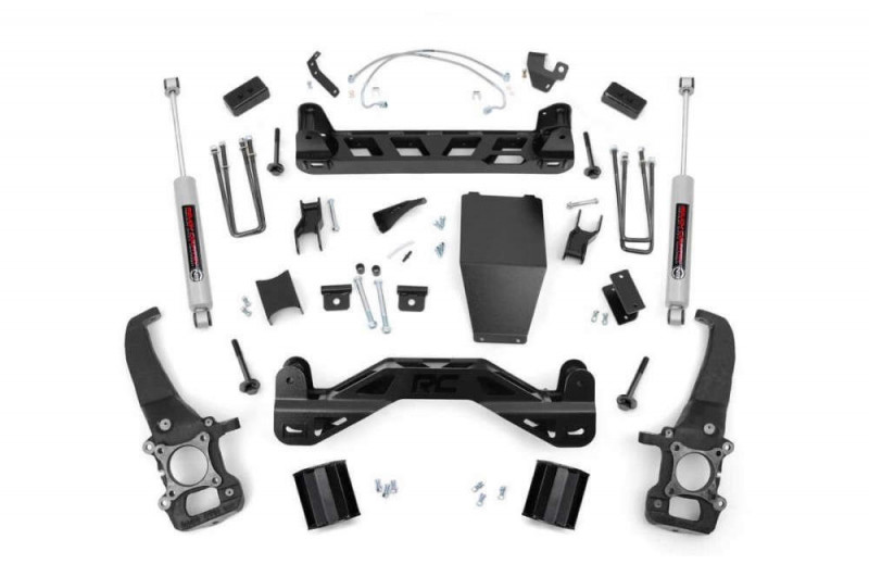 """Rough Country 4"""" Ford Suspension Lift Kit"""