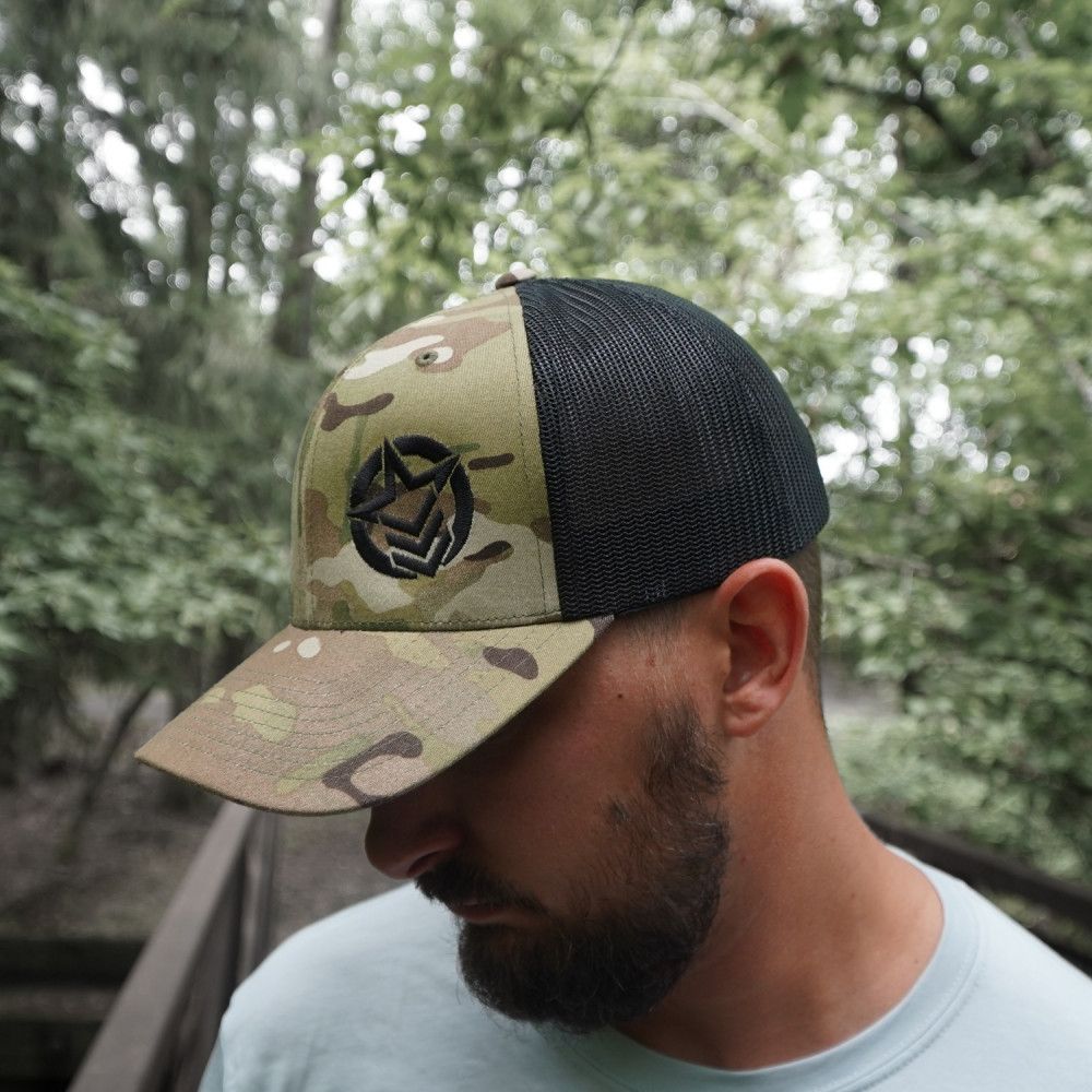 Classic Trucker Camouflage Hat