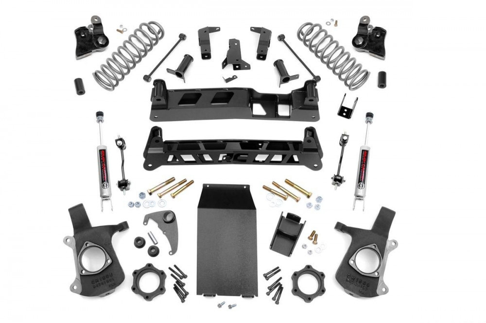 """Rough Country 6"""" GM NTD Suspension Lift Kit"""