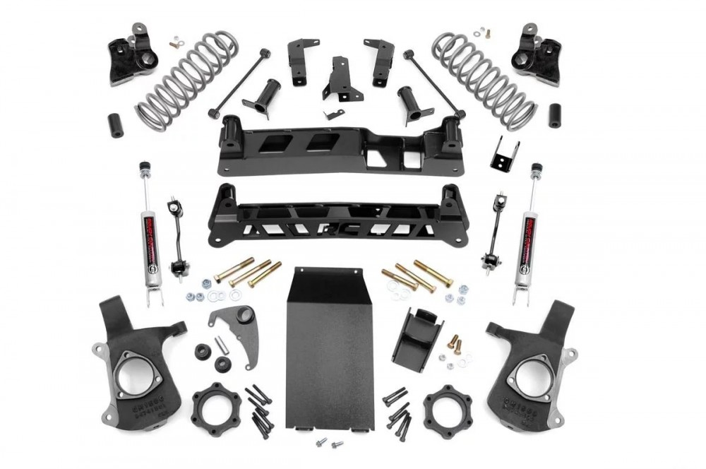 "Rough Country 6"" GM NTD Suspension Lift Kit"