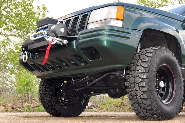 Rough Country Jeep Winch Mounting Plate (93-98 Grand Cherokee ZJ)