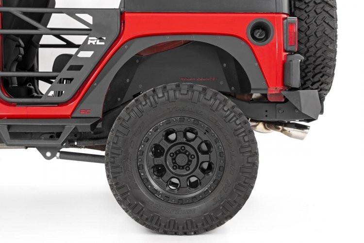 Rough Country Jeep Front & Rear Fender Delete Kit (07-18 Wrangler JK)