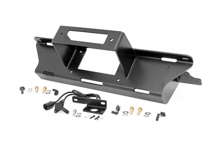 Rough Country GM Hidden Winch Mounting Plate (99-06 1500 PU)
