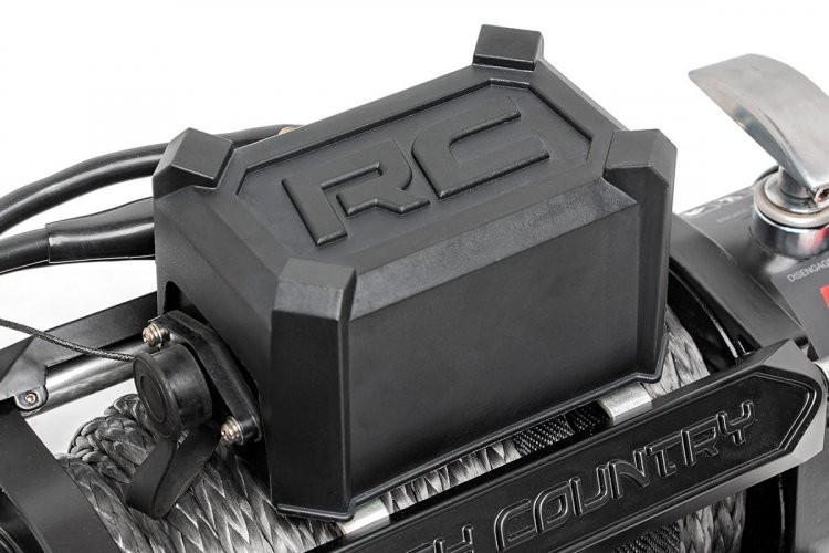 Rough Country 12000lb Pro Series Electric Winch | Steel Cable