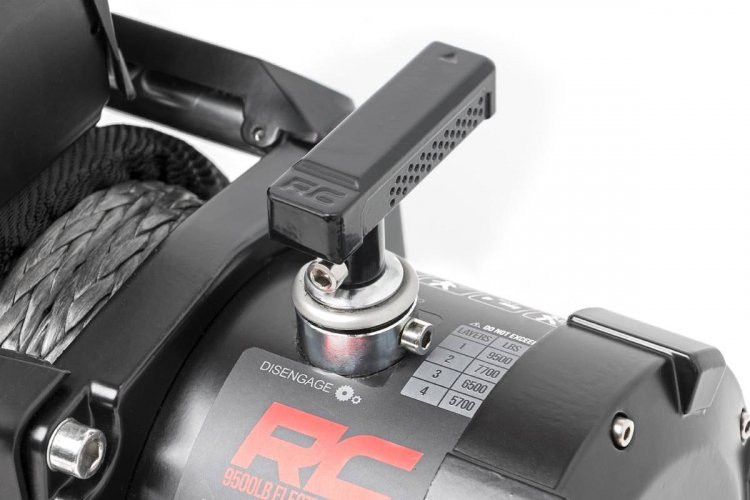 Rough Country 9500lb Pro Series Electric Winch | Steel Cable