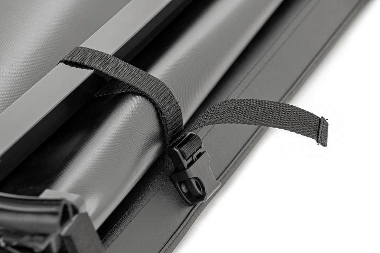Rough Country Dodge Soft Tri-Fold Bed Cover (02-08 Ram 1500, 2500 - 6\' 5\