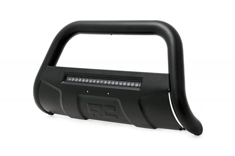 Rough Country GM 2019 Silverado/Sierra 1500  Bull Bar w/LED Light Bar (Black)