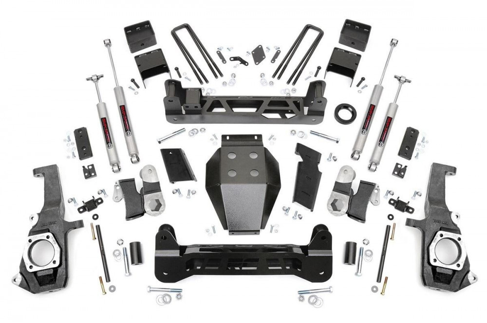 "Rough Country 5"" GM NTD Suspension Lift Kit"