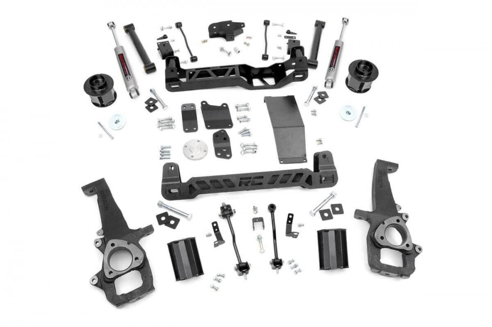 """Rough Country 6"""" Suspension Lift Kit (09-11 Ram 1500 4WD)"""