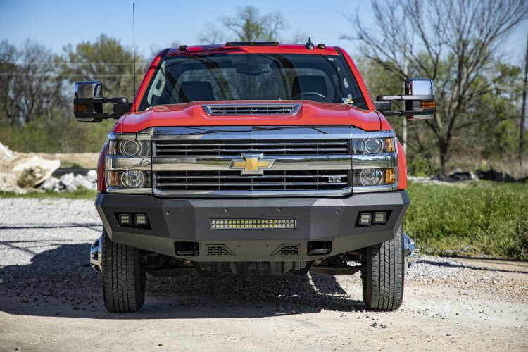 Rough Country GM Heavy-Duty Front LED Bumper (15-19 GM 2500 HD/3500 HD)