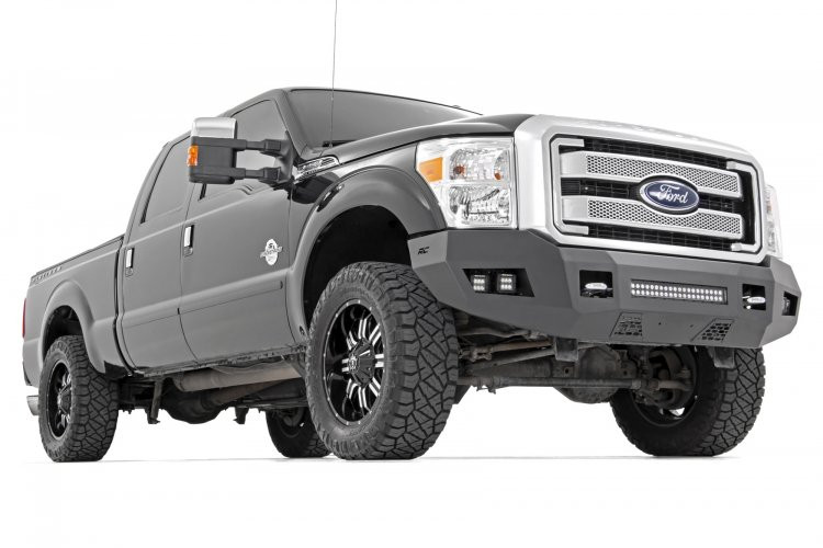 Rough Country Ford Heavy-Duty Front LED Bumper (11-16 F-250/F-350)
