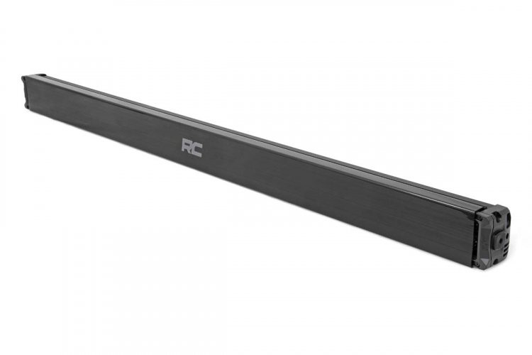 Rough Country 50-inch Cree LED Light Bar - (Dual Row | Black Series w/ Amber DRL)