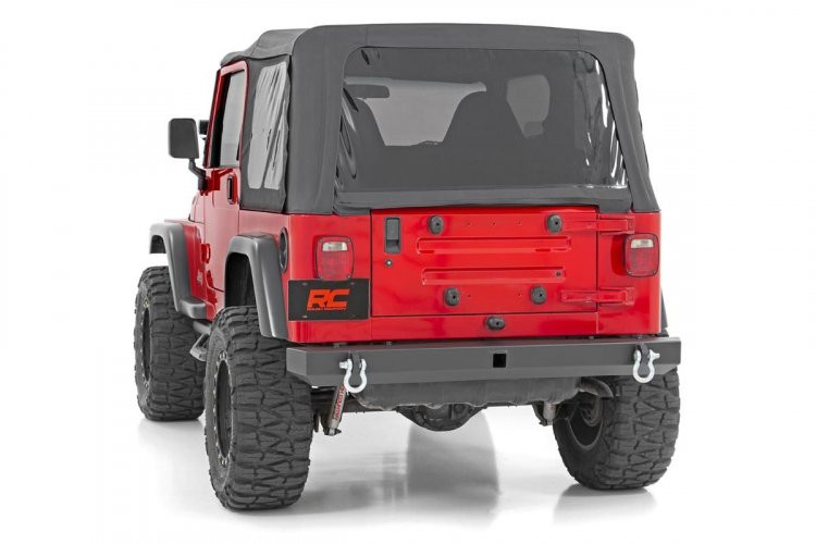 Rough Country Jeep Classic Full Width Rear Bumper (87-06 Wrangler YJ/TJ)