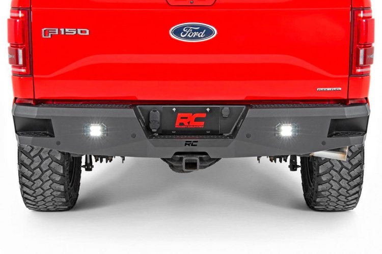 Rough Country Ford Heavy-Duty Rear LED Bumper (15-19 F-150)