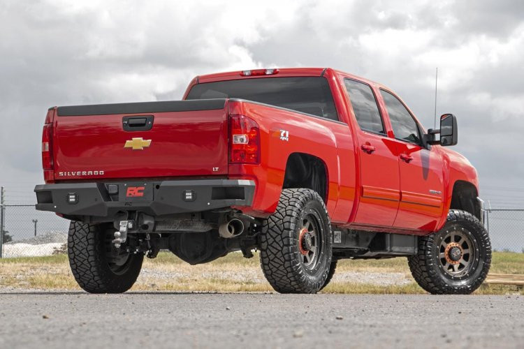 Rough Country GM Heavy-Duty Rear LED Bumper (11-19 2500/3500)