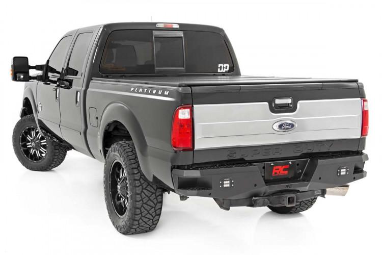 Rough Country Ford Heavy-Duty Rear LED Bumper (99-16 F-250 / F-350)