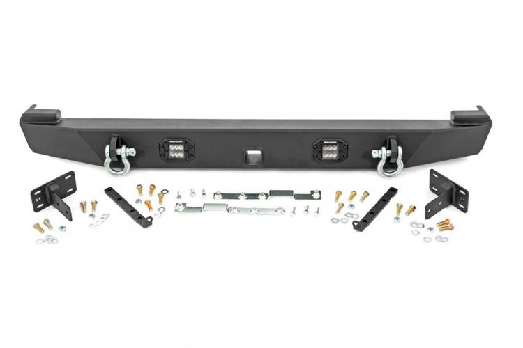 Rough Country Jeep Rear LED Bumper (84-01 Cherokee XJ)