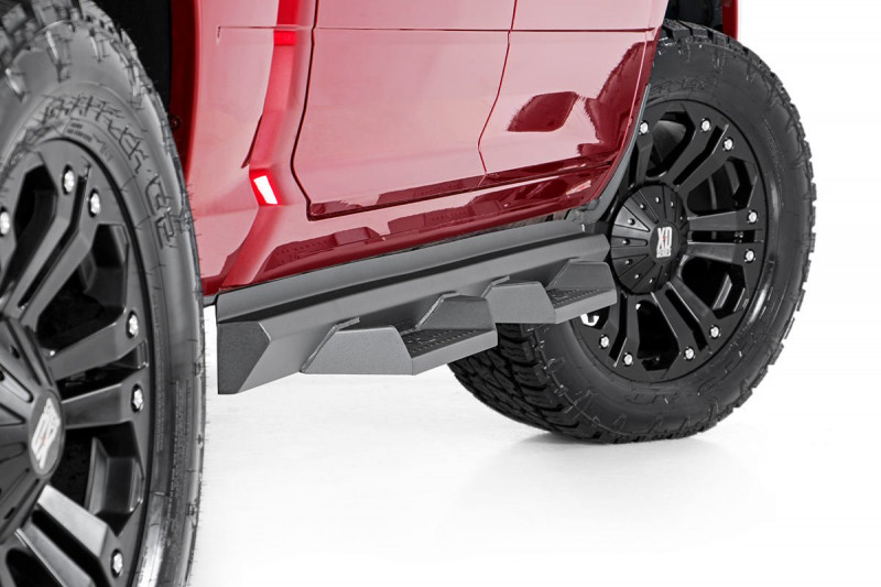 Rough Country Dodge DS2 Drop Steps (09-18 Ram 1500 / 2500 / 3500 | Crew Cab)