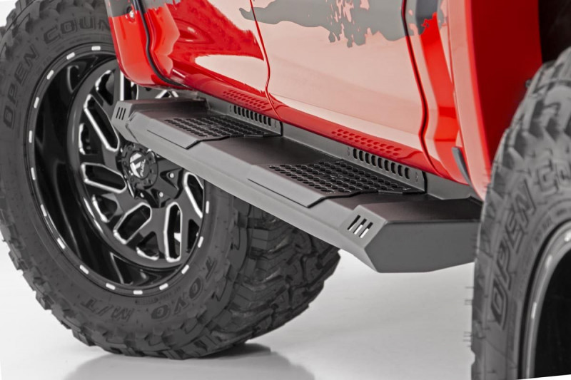 Rough Country Toyota HD2 Running Boards (07-21 Tundra   CrewMax)