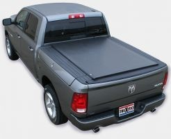 TruXedo Lo Pro QT Soft Roll-up Tonneau Cover for 12-17 Dodge Ram w/RamBox 6.4 Bed