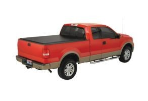 TruXedo Lo Pro QT Soft Roll-up Tonneau Cover for 12-15 Ford Ranger International w/4.8 Bed Euro Ladder Rack