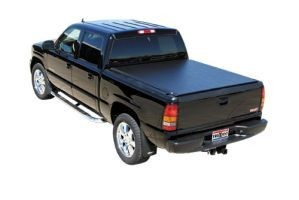 TruXedo Lo Pro QT Soft Roll-up Tonneau Cover for 2014-17 GM Full Size with 8.0 Bed