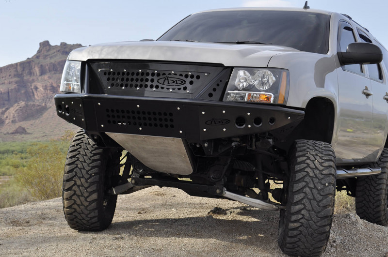 ADD Offroad Stealth Front Bumper W/ Grill (07-13 Tahoe/Suburban/Avalanche)