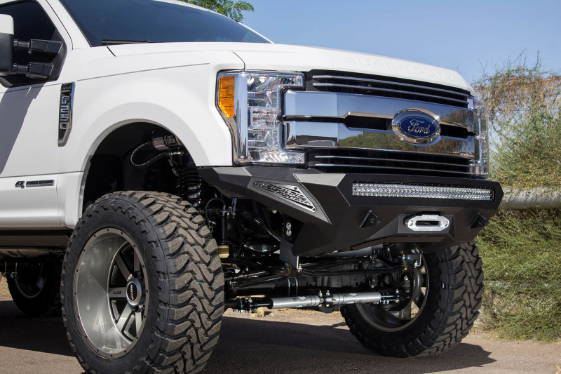 ADD Offroad Stealth Fighter Front Bumper W/ Winch Mount (17-21 F-250/350)