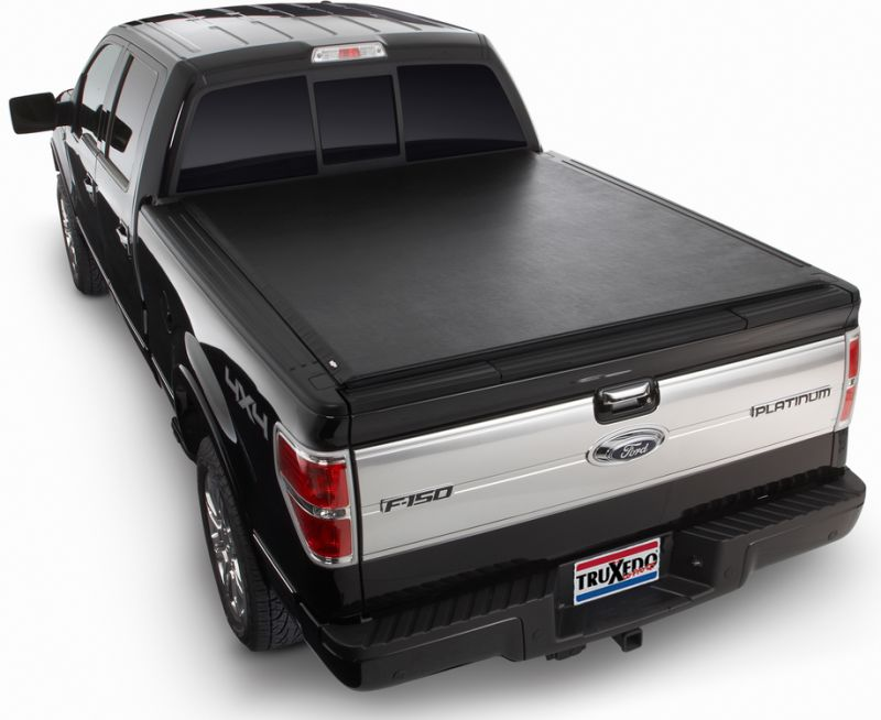 Truxedo 598601 Lo Pro Qt Soft Roll Up Tonneau Cover For 09 14 Ford F 150 With 8 0 Bed Custom Offsets