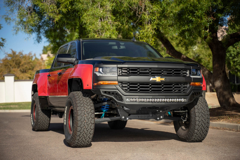 ADD Offroad Rock Fighter Front Bumper (16-18 Chevy 1500)