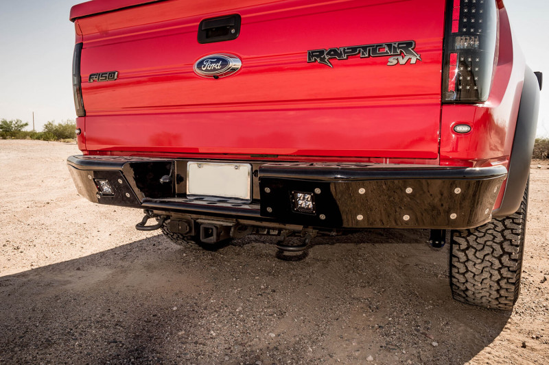ADD Offroad Stealth R Rear Bumper W/ Sensor Cutouts (09-14 Ford F-150)