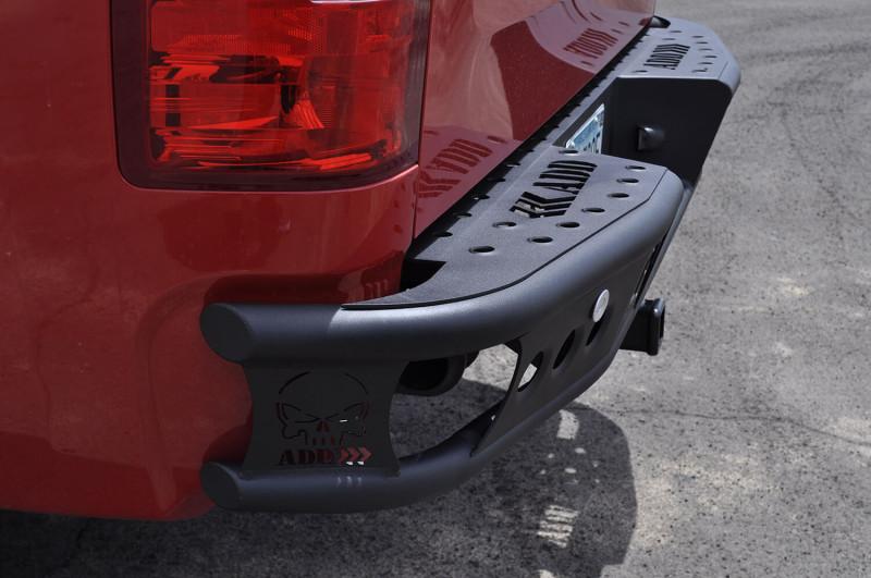 ADD Offroad Dimple R Rear Bumper W/ Sensor Cutouts (07-13 Chevy 1500)