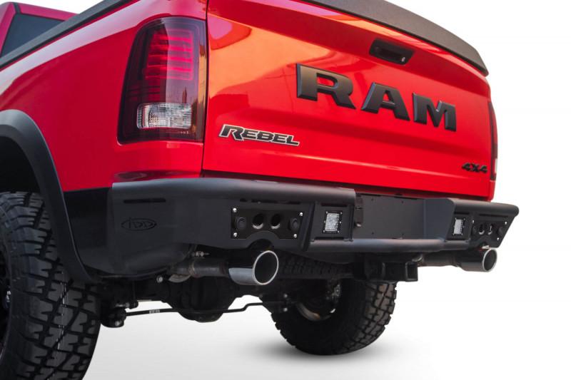ADD Offroad Stealth R Rear Bumper W/ Sensor Cutouts (09-18 Ram 1500)