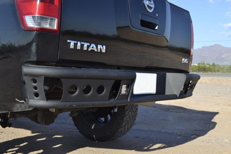 ADD Offroad Dimple R Rear Bumper (04-15 Titan)