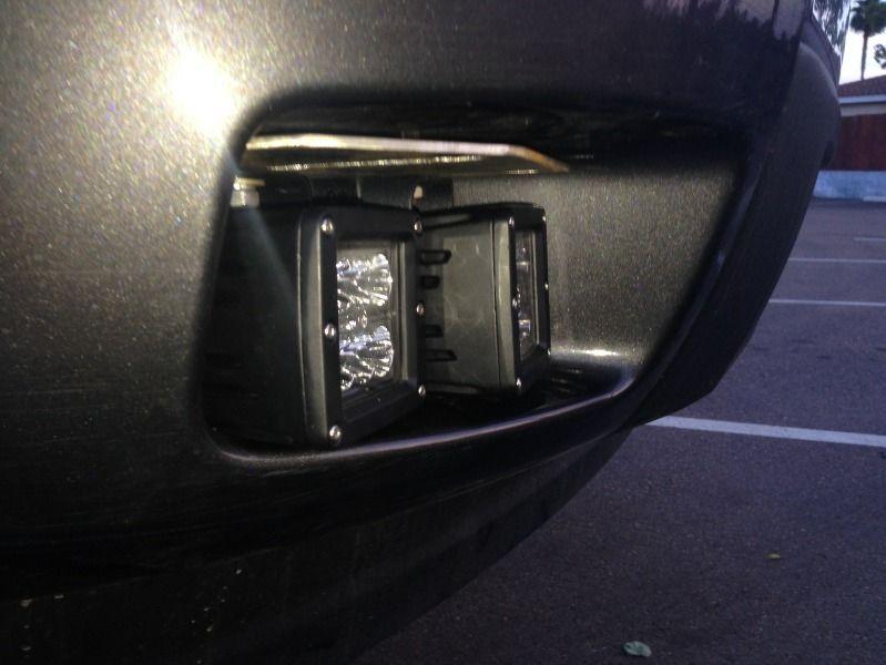 3 inch QUAD Cube Foglight (BRACKET ONLY) 2007-2013 Chevrolet Silverado