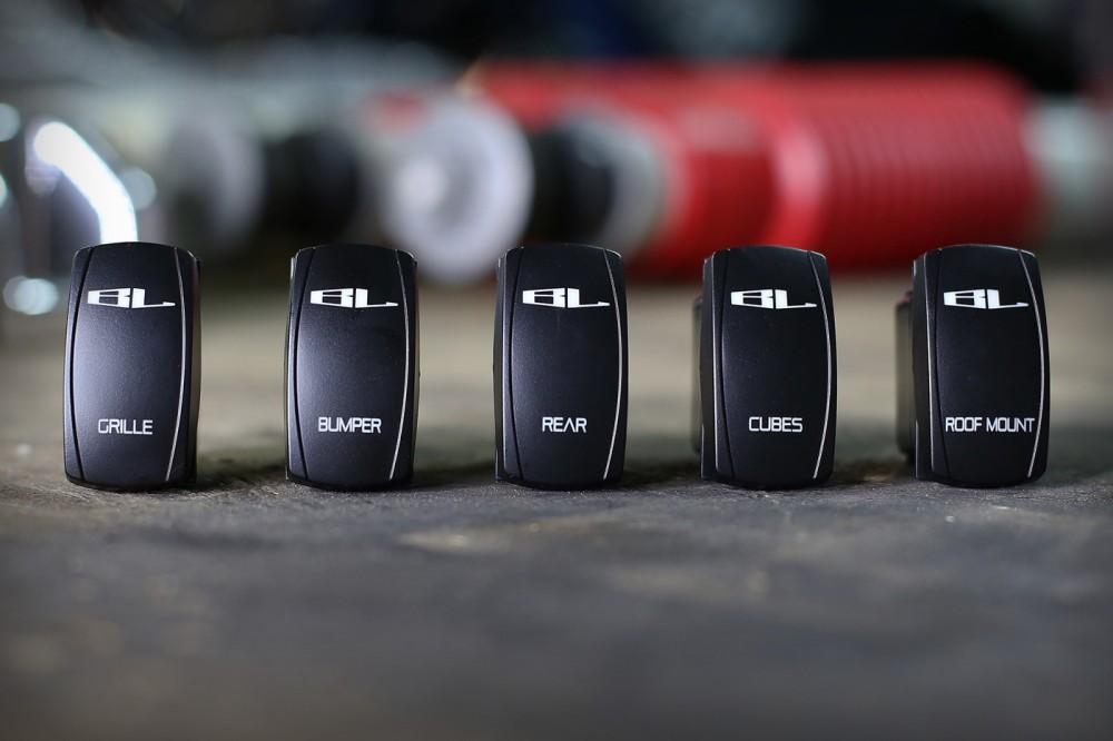 LED Light Switches