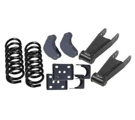 Mcgaughy Lowering Kit For 02 05 Dodge Ram 1500 2wd X Quad Cab