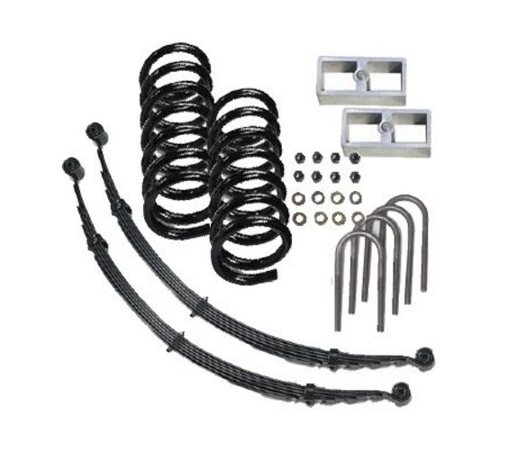 Mcgaughy Lowering Kit For Gmc Sonoma Chevy S10 2wd Extended Cab
