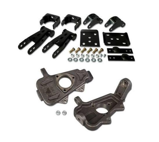 Mcgaughy Lowering Kit For 02 05 Dodge Ram 1500 2wd Single