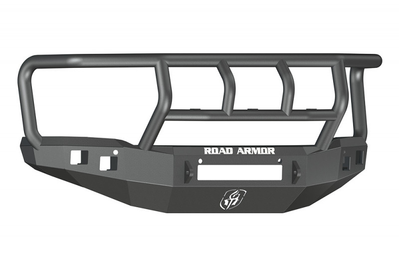 Road Armor Stealth Front Non-Winch Bumper w/ Titan II Guard - Texture Black (14-15 GMC 1500)