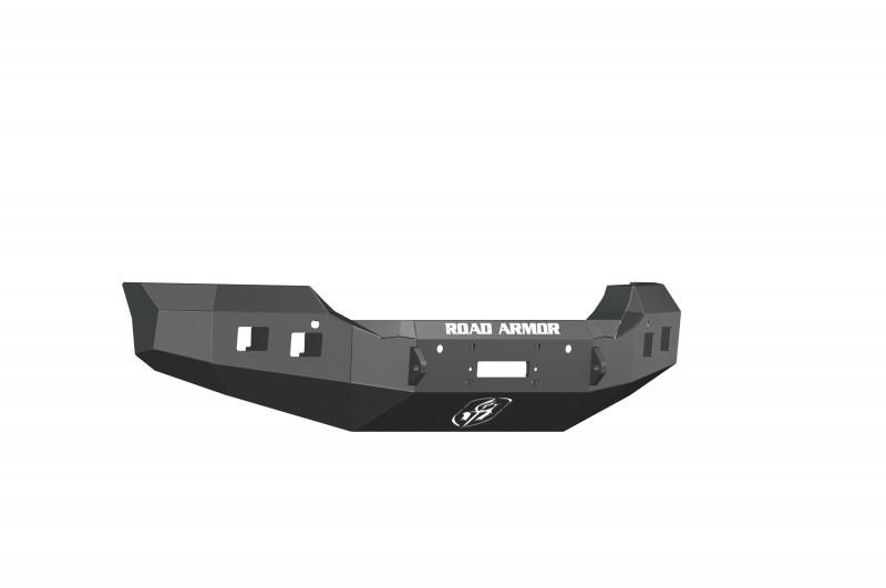 Road Armor Stealth Front Winch Bumper - Texture Black | WARN M12000/Smittybilt XRC (15-19 GMC 2500/3500)