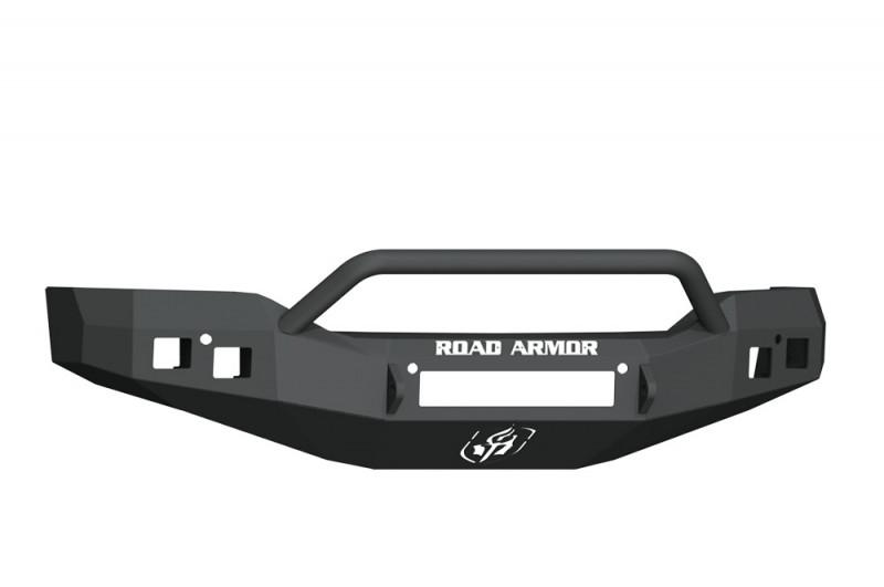 Road Armor Stealth Front Non-Winch Bumper w/ Pre-Runner Guard - Texture Black (16-18 GMC 1500)