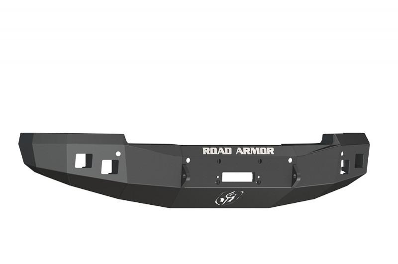 Road Armor Stealth Front Winch Bumper - Texture Black   WARN M12000/Smittybilt XRC (14-15 Chevy 1500)