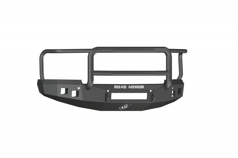 Road Armor Stealth Front Non-Winch Bumper w/ Lonestar Guard - Texture Black (14-15 Chevy 1500)