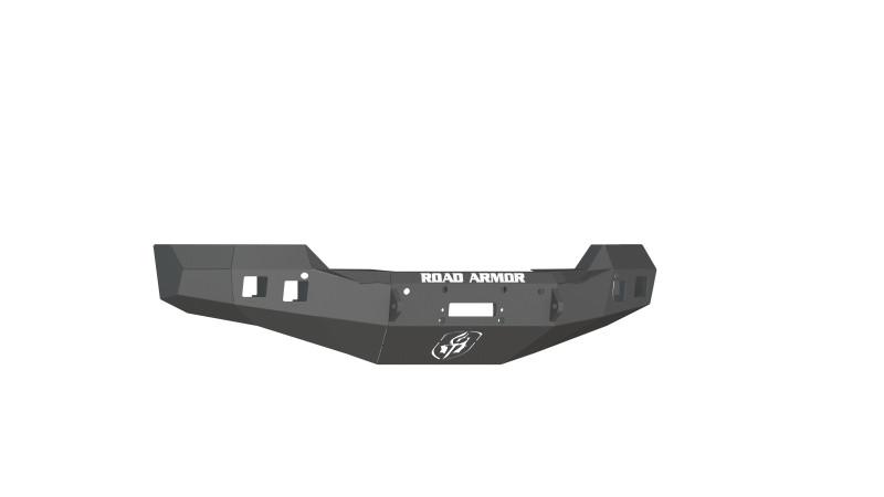 Road Armor Stealth Front Winch Bumper - Texture Black   WARN M12000/Smittybilt XRC (16-18 Chevy 1500)