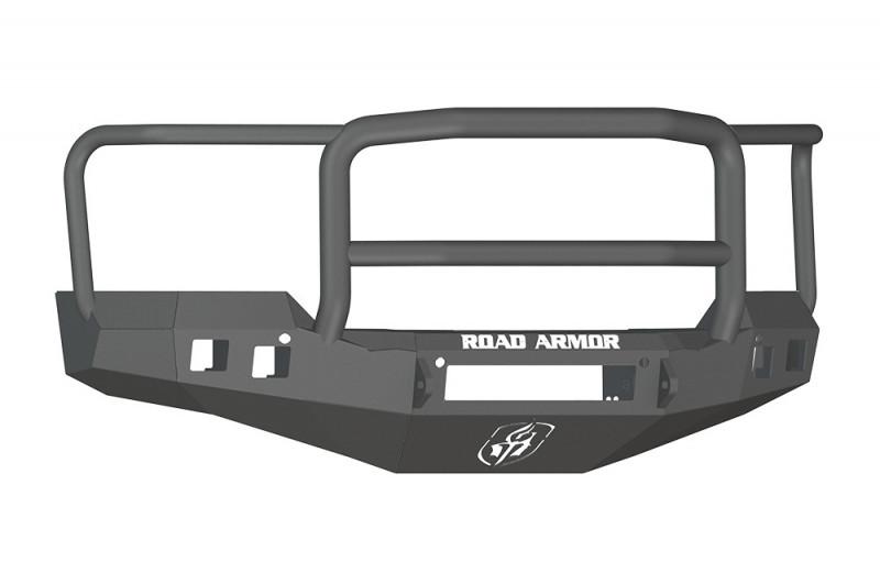 Road Armor Stealth Front Non-Winch Bumper w/ Lonestar Guard - Texture Black (16-18 Chevy 1500)