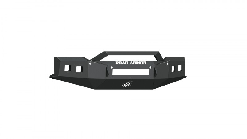 Road Armor Stealth Front Non-Winch Bumper Sheet Metal w/ Pre-Runner Guard - Texture Black (19-20 Chevy 1500)